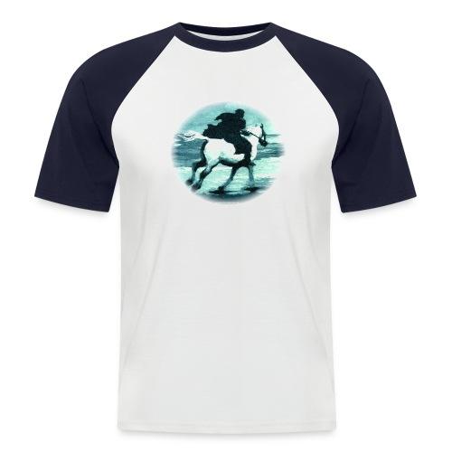 Schimmelreiter - Männer Baseball-T-Shirt