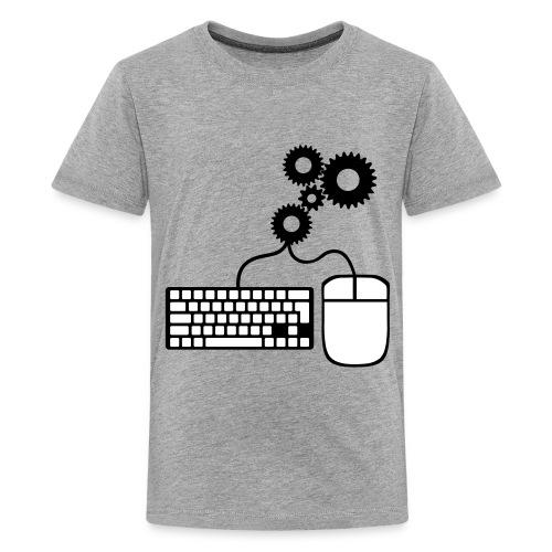 Pc Is My Life ! - T-shirt Premium Ado