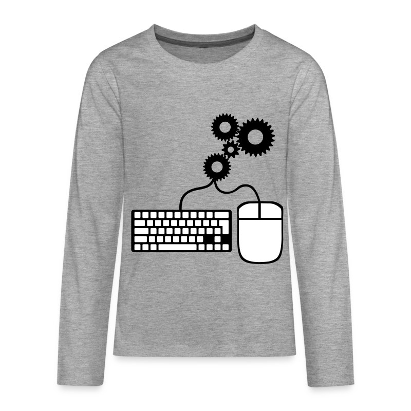 Pc Is My Life ! - T-shirt manches longues Premium Ado