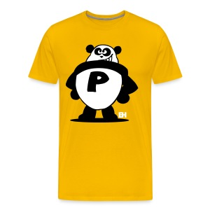 Panda Power - Mannen Premium T-shirt