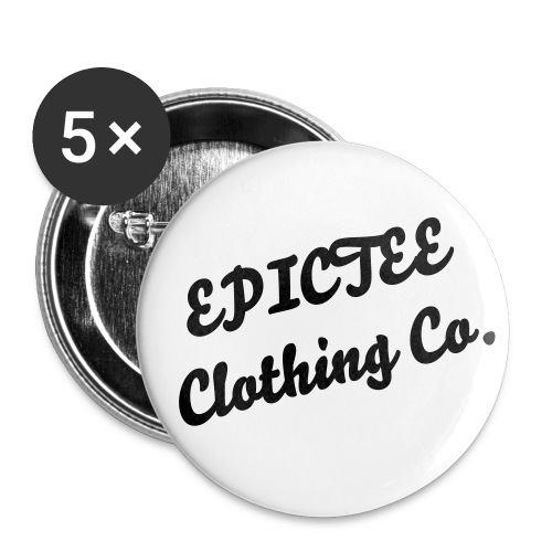 EPICTEE Pin Badge - Buttons small 1''/25 mm (5-pack)