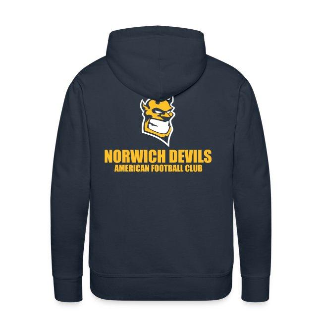 Norwich Devils Navy Hoodie