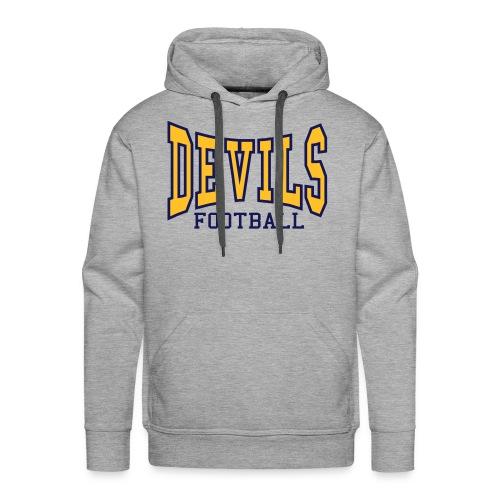 Devils Football Ash Hoodie - Men's Premium Hoodie