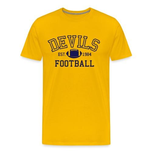 Devils Football Est. 1984 T-shirt - Men's Premium T-Shirt