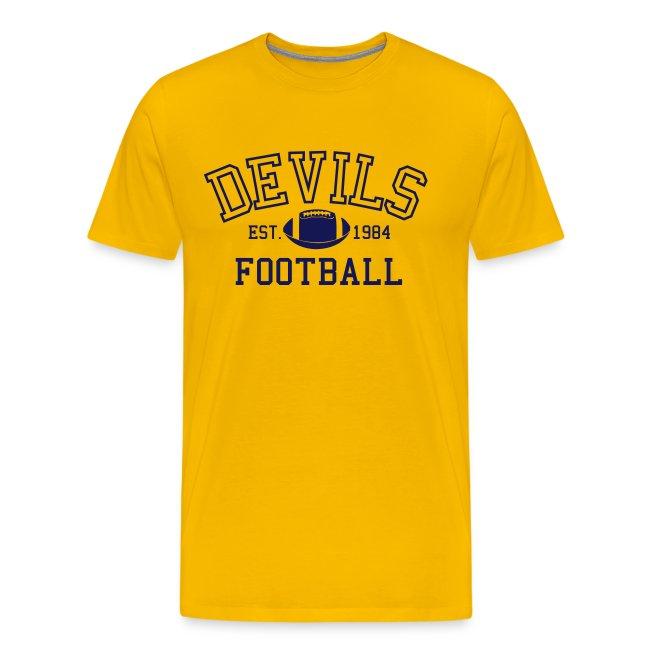 Devils Football Est. 1984 T-shirt