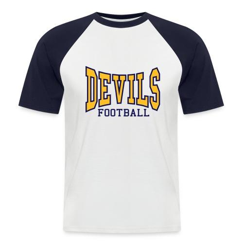 Devils Football Two Tone T-Shirt - Men's Baseball T-Shirt