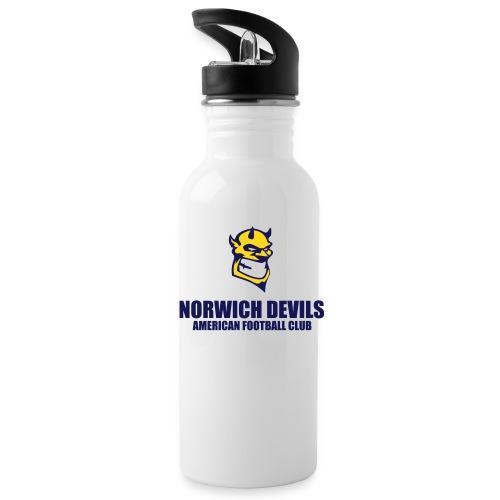 Norwich Devils Water Bottle (White) - Water Bottle