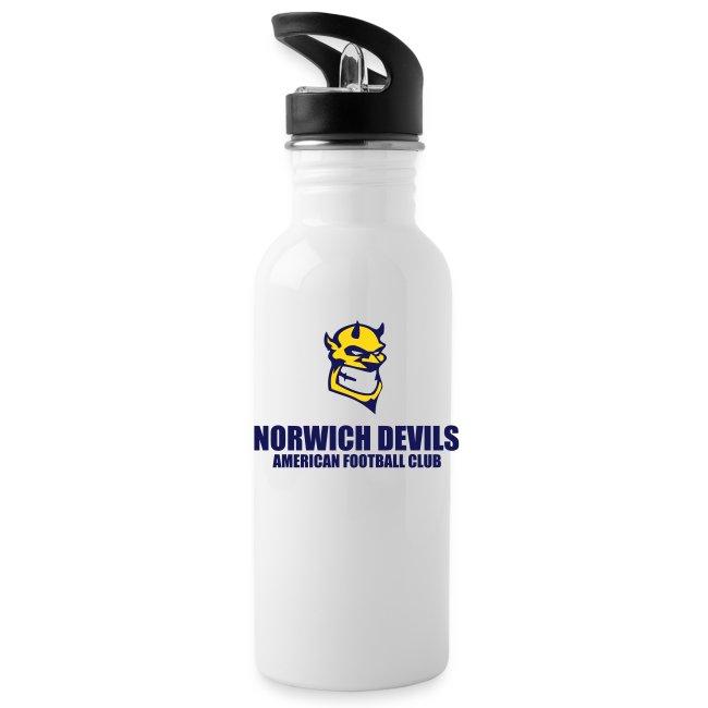 Norwich Devils Water Bottle (White)