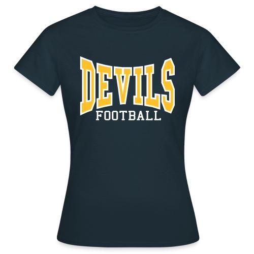Devils Football Women's Navy Shirt - Women's T-Shirt