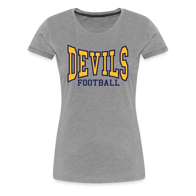 Devils Football Women's Ash Shirt