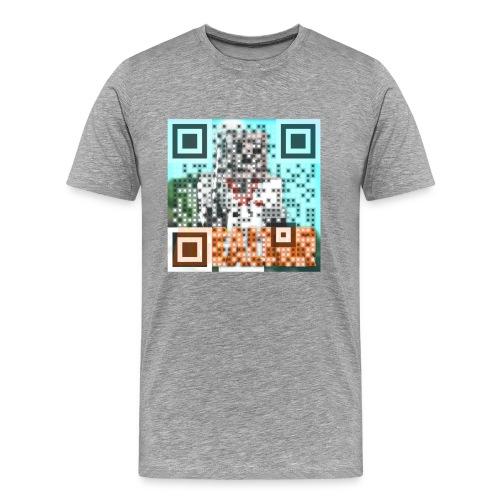 Ascalter QR-Code - Männer Premium T-Shirt