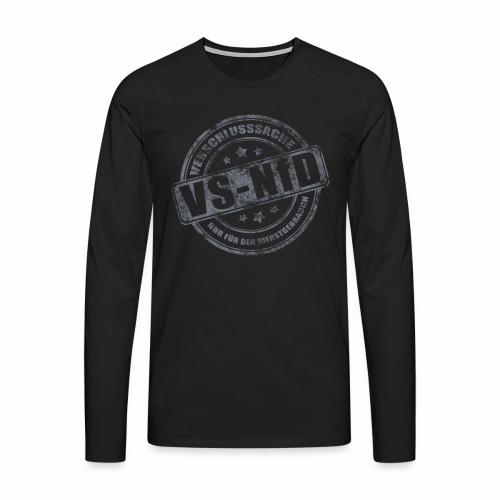 vsnfd Langarmshirt - Männer Premium Langarmshirt