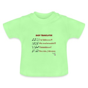 T-shirt translator - T-shirt Bébé
