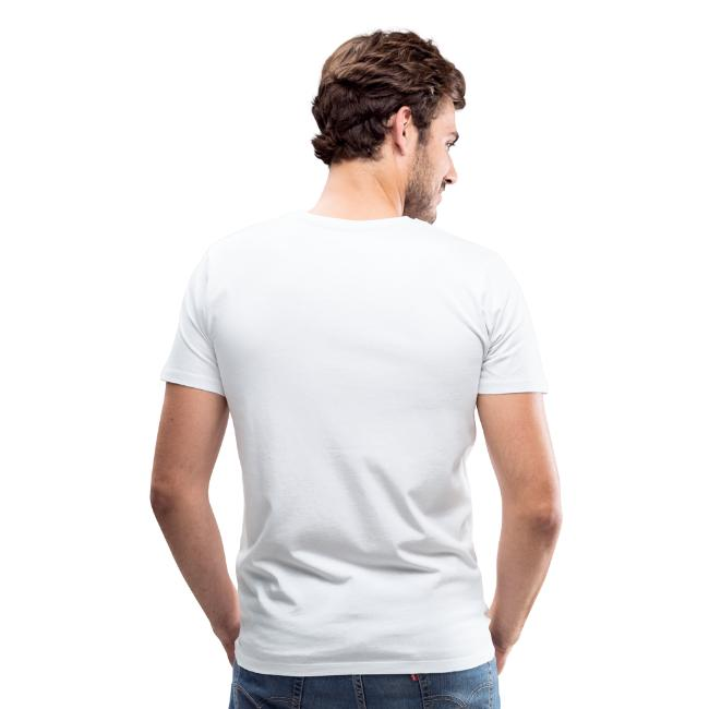 Halleluja sog i T-Shirt (Herren Weiß)