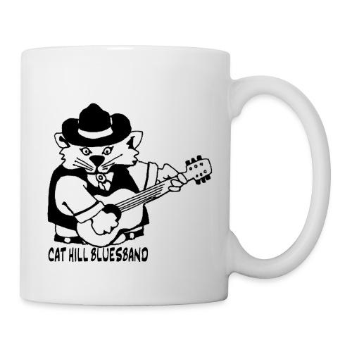 Cat Hill Kaffeepott mit zwei Blueskatzen - Tasse