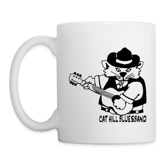 Cat Hill Kaffeepott mit zwei Blueskatzen