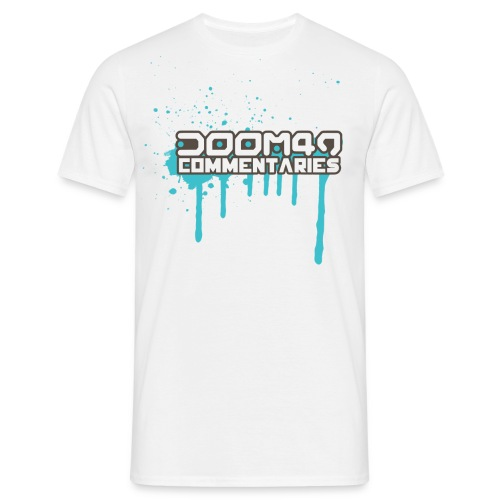 DooM49 Commentaries Splash  - Men's T-Shirt