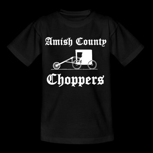 Amish County Choppers Kid's T-Shirt - Kids' T-Shirt