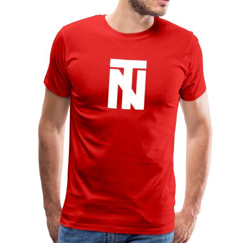 Tazio Nuvolari (White) - Men's Premium T-Shirt