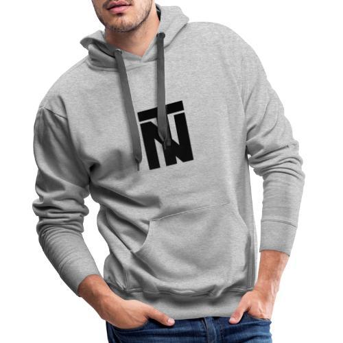 Tazio Nuvolari (Black) Hoodie - Men's Premium Hoodie