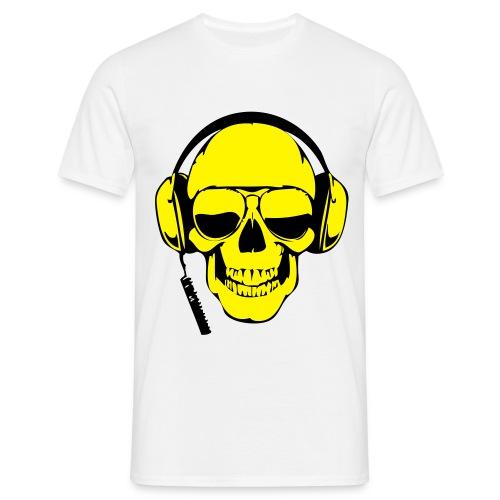 Totenkopf DJ - Männer T-Shirt