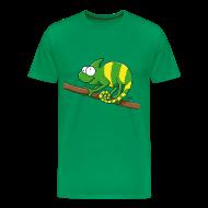 T-Shirts ~ Männer Premium T-Shirt ~ Thoddys Chamäleon