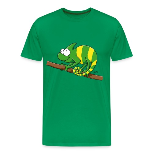 Thoddys Chamäleon - Männer Premium T-Shirt