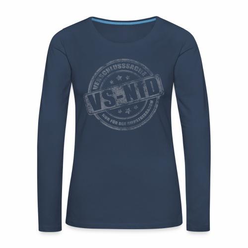 vsnfd Langarmshirt Frauen - Frauen Premium Langarmshirt