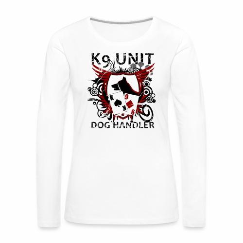 k9 unit Langarmshirt Frauen - Frauen Premium Langarmshirt
