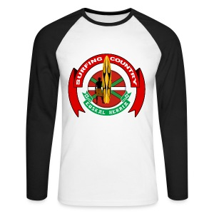 Basque surfing country - Men's Long Sleeve Baseball T-Shirt