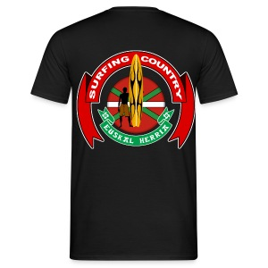 Basque surfing country - Men's T-Shirt