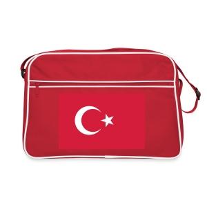 Retro Turkish Flag Bag - Retro-tas