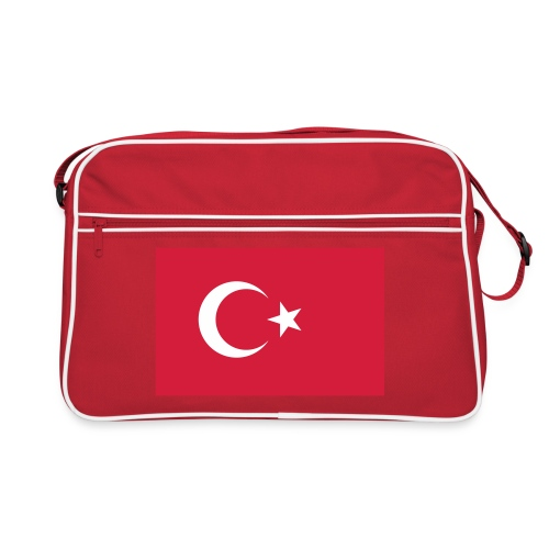 Retro Turkish Flag Bag - Retro-tas