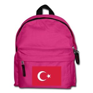 Kinderen Turkish Flag Bag - Rugzak voor kinderen