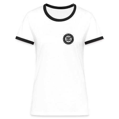 jacksonkontrast - Frauen Kontrast-T-Shirt