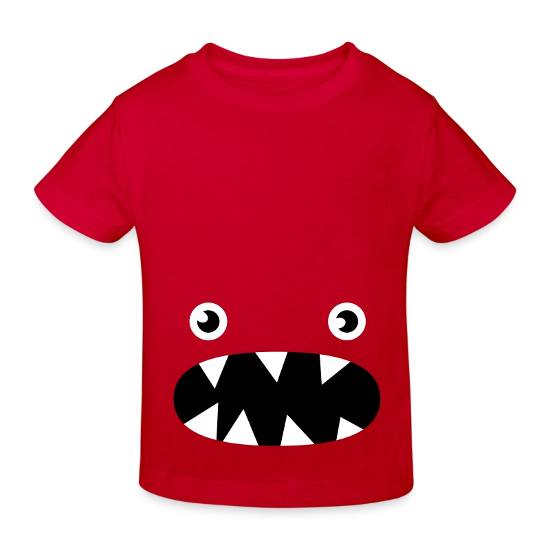 Phillip the little monster - Kids' Organic T-shirt