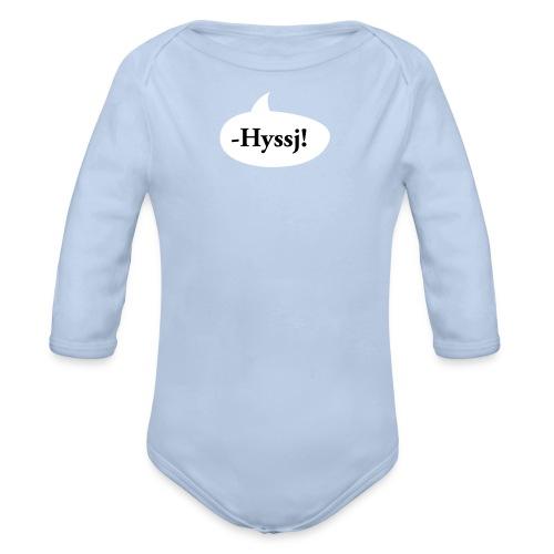 -HYSSJ! - Ekologisk långärmad babybody