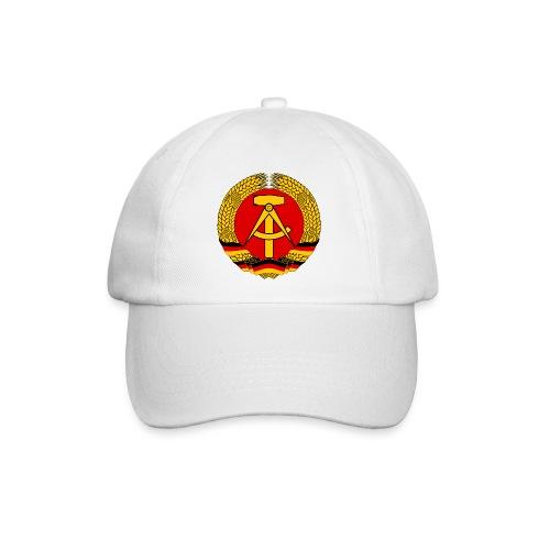 Mütze mit DDR Abzeichen als Bild - Baseballkappe