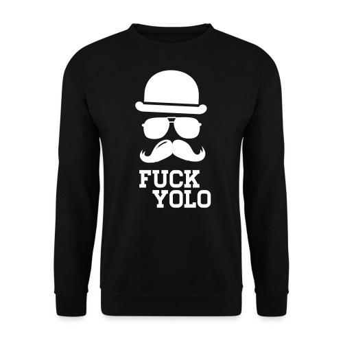 Mustache FUCK  - Männer Pullover
