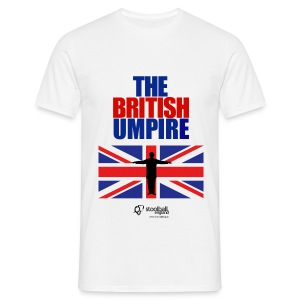 British Umpire Men's T-Shirt - Men's T-Shirt
