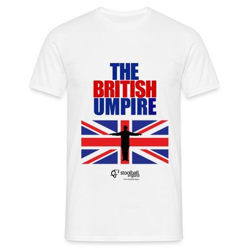 British Umpire Men's T-Shirt - Men's T-Shirt