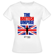 British Umpire Women's T-Shirt