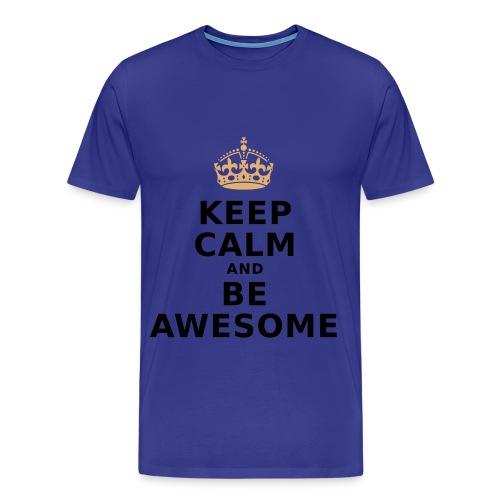 Be Awesome#men shirt - Männer Premium T-Shirt