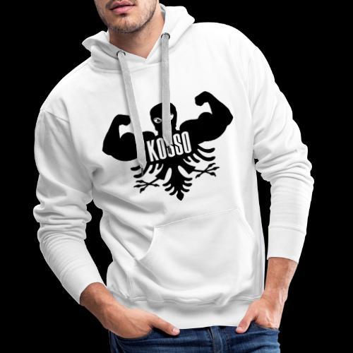 Mannen Sweaters met Capuchon (Zwarte Logo) - Mannen Premium hoodie