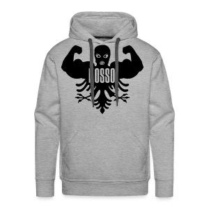 Mannen Sweaters met Capuchon Grijs standaard - Mannen Premium hoodie