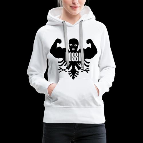 Dames Sweater met Capuchon (Zwarte Logo) - Vrouwen Premium hoodie