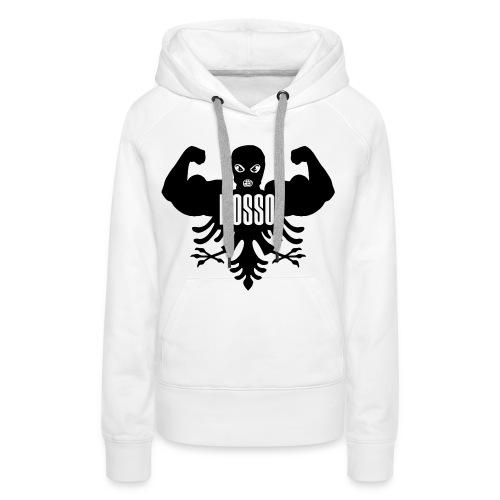 Dames Sweater met Capuchon Wit Standaard - Vrouwen Premium hoodie