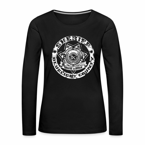 sheriff Langarmshirt Frauen - Frauen Premium Langarmshirt