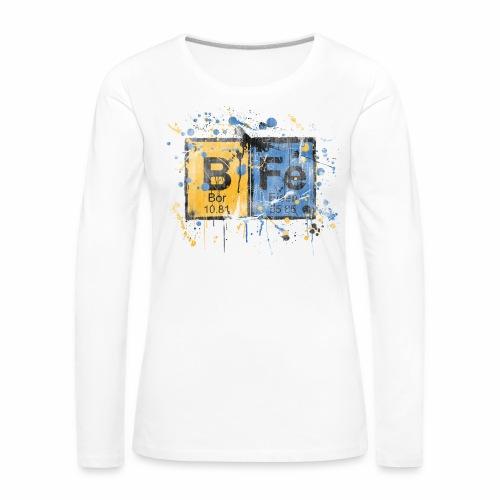 bfe elements Langarmshirt Frauen - Frauen Premium Langarmshirt