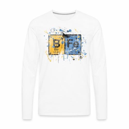 bfe elements Langarmshirt - Männer Premium Langarmshirt